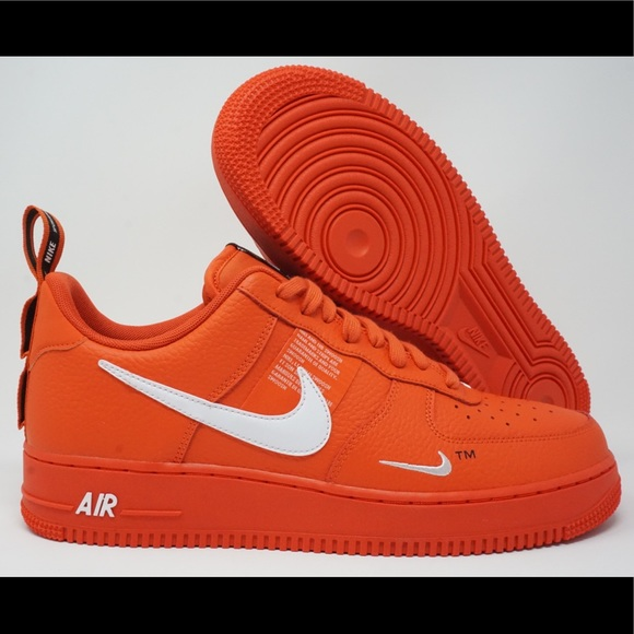 4a1aada4a0845a Nike Air Force 1 07 LV8 Utility Orange